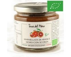 Marmellata di Arance Moro con scorza bio 200 gr - Terre del Moro