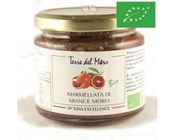 Marmellata di Arance Moro solo polpa 200 gr - Terre Del Moro
