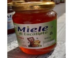 Miele di Eucalipto Biologico 500 gr