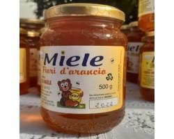 Miele di Fiori d'Arancio Biologico 500 gr