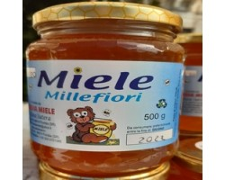 Miele Millefiori Biologico 500 gr